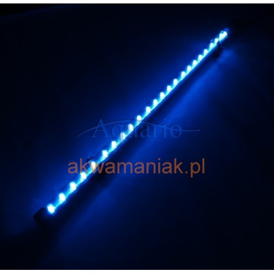Oświetlenie Nocne Led 38cm Niebieskie